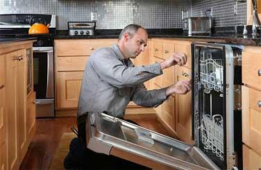 Residential appliance repair repairman.